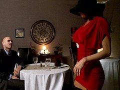 茶髪の, ドレス, ハードコア, 下着