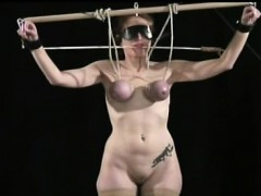 Bawdy minded girls are asking for nipple torment