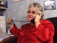 ぽっちゃり, フェラチオ, お婆さん, ストッキング