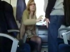 Public Sex in the train with boobalicious mom i`d like to fuck