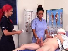 Uniformed femdom nurses