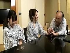 アジア人, 毛深い, ハードコア, 日本人, 三人