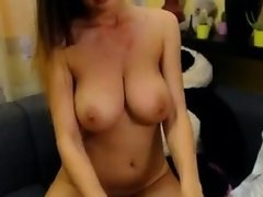 Teen with big boobs has sex in the car