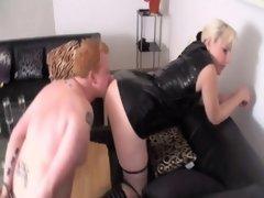 Kont, Bondage discipline sadomasochisme, Blond, Latex, Kousen