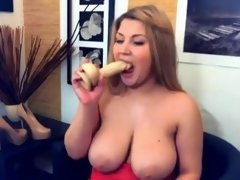 Beautiful AdeleStar with natural 36DD breasts ALIVEGIRL