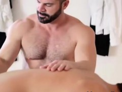 Older gay Mormon stripping cute young dude naked