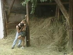 German 18-19 year old Gets Pounded In The