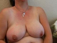 Unshaved Curvy Old Fingering