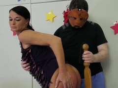 Painful anal punishment pal's daughter Talent Ho