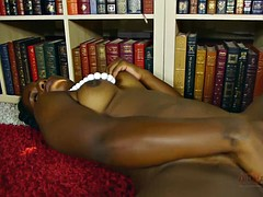 Solo Performance By Horny Ebony Chick
