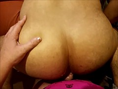 Mix of strapon and solo toying