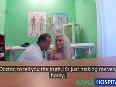 FakeHospital Tattooed Blonde Loves Doctors Dick and wants his cum