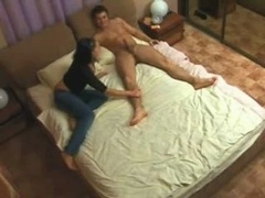 aroused bitch cheating wife on hidden camera