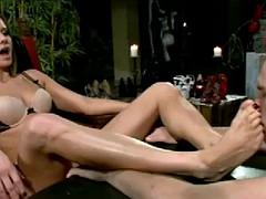 Anal, Bondage domination sadisme masochisme, Femme dominatrice, Strapon, Plan cul à trois