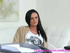 FemaleAgent Hot babes first lesbian experience