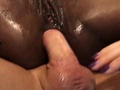 threesome ebony hard fuck