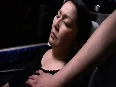 Sleepy Milfs groped on a bus 2