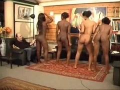 African butt shaking