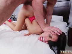 Verified amateurs gagging and extreme spit swap Kira Adams gets a giant facial after