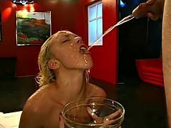 Young Annette Schwarz loves extreme Pissing - 666Bukkake