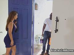 Painters big black cock in bigtit housewife