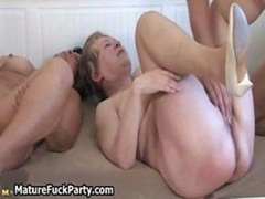 Excited experienced housewives enjoys part4