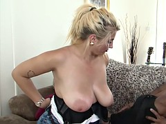 PURE XXX FILMS Chubby housewife gets a warm creamp