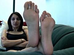 Nia's Sweet Indian Feet