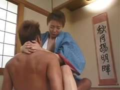 Japanese wifey Maria Yuuki does her duty