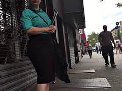 Belle grosse femme bgf, Espagnole, Voyeur