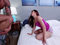 Big cock banging Sally Squirtz pussy