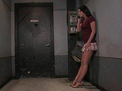 浴室, ボンデージ, 惨い, エクストリーム, ハードコア, 陵辱, お仕置き, 拘束