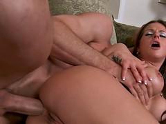 Busty College Babe Rachel Roxxx Gets Ass Fucked