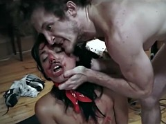 a very hot teen gina valentina enjoys some rough fucking with a crazy dude