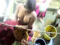 Leie, Indisch, Im freien, Dusche