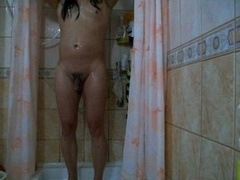 dilettante turkish crossdresser shower