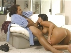 Ron Jeremy and Logan LaBrent