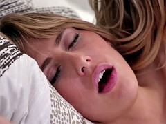 gorgeous blonde hot milf alexis have sex with babe carter