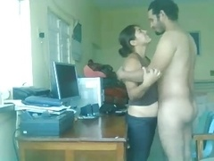 Pakistani Couple Totally hardcore Sex On A Table