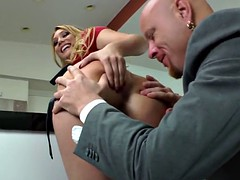 rimmed domina pegging subs asshole