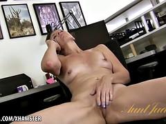 Lacy's naughty phone masturbation
