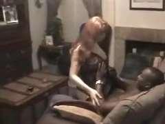 Redhead Big-Titted Wife Worships the HUGE CAPTURED SHAFT!! - SAO