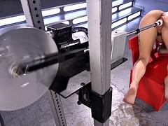 19 Year Old Gina Valentina gets Machine Fucked