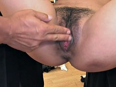 Super hot teacher gets fucked and creamed in class