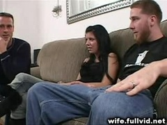 Housewife Sucks Purple rod