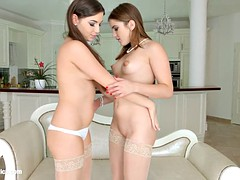 Morning Chill by Sapphic Erotica - lesbian love porn with