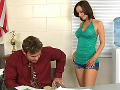 Jada goes to his office