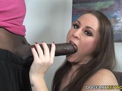 Hailey Brooke Takes Mandingos Black Dick