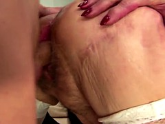 Mature mom and housewife inseminated by unknown guy
