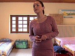 Slaapkamer, Seksspeelgoed, Europees, Groep, Lesbisch, Feest, Realiteit, Tiener